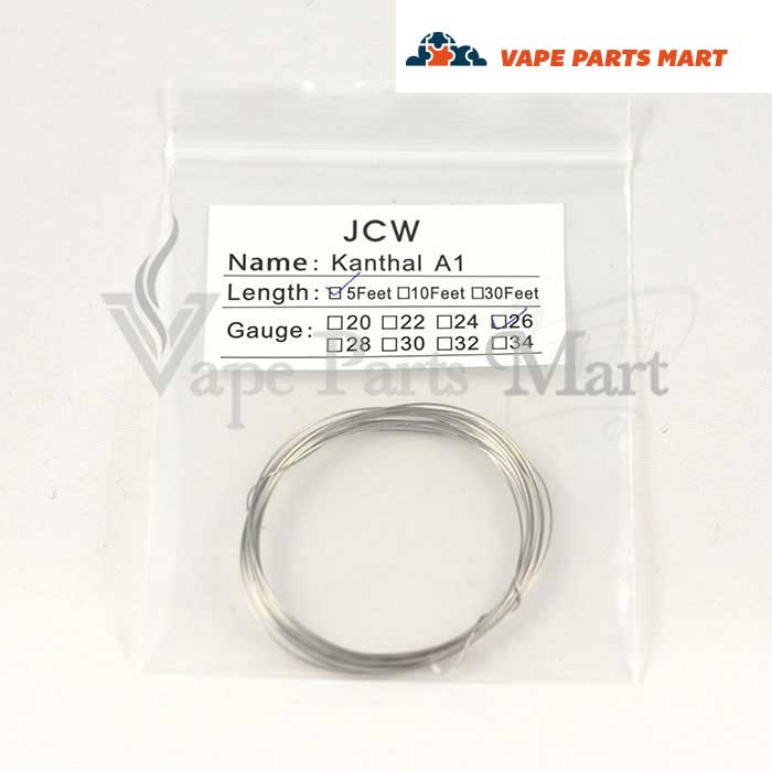5 Feet RDA Kanthal Wire Gauges 22-32 - Vape Parts Mart
