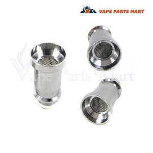 glass globe stainless steel nail atomizer