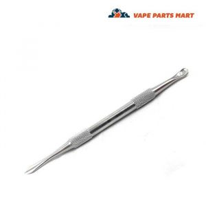 stainless steel metal dab tool with scoop