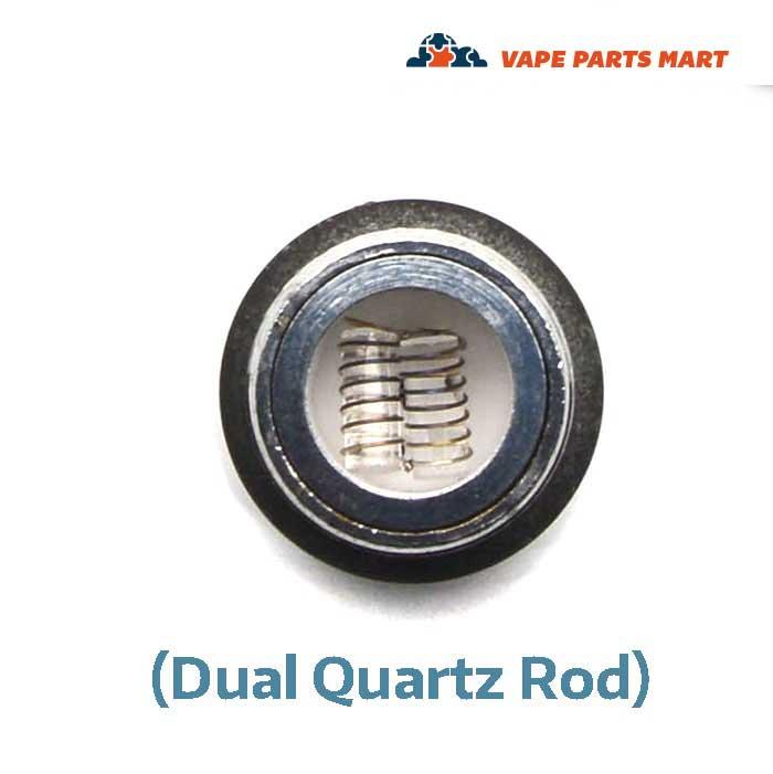 Dual Quartz Rod Wax Coil for G Pen