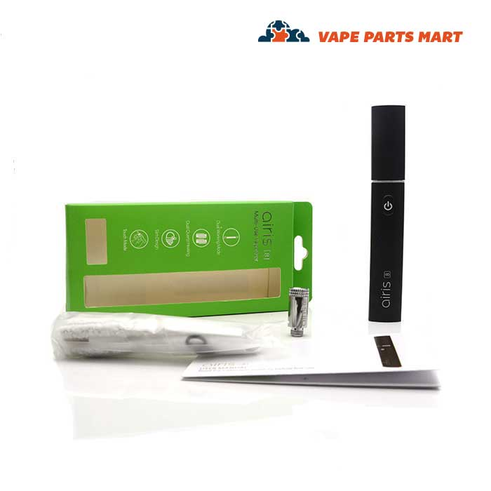 The full airis eight wax vape pen kit displayed