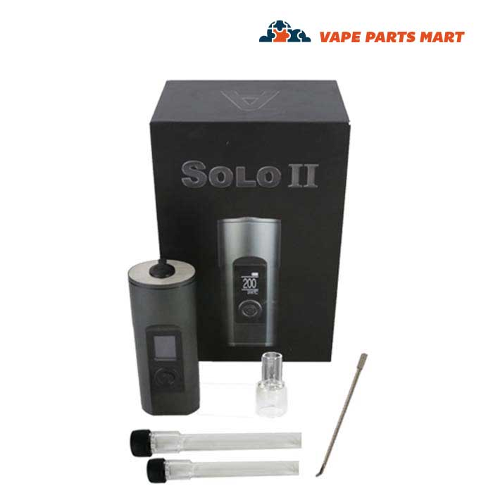 Arizer Solo II Portable Dry Herb Vaporizer Kit
