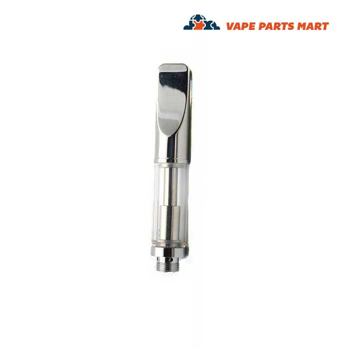 0.3 vape cartridge silver mouthpiece