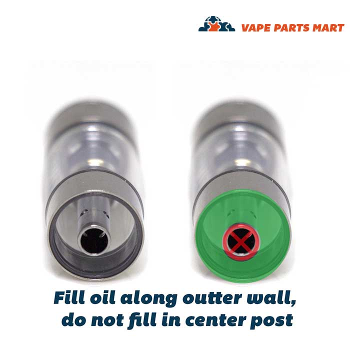 CCell M6T Oil Cartridge filling instructions